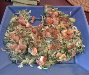 A twist on typical Okonomiyaki