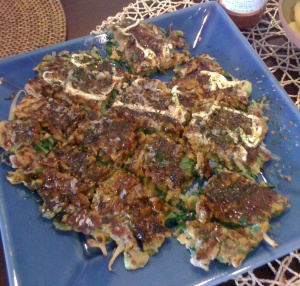 Typical Okonomiyaki