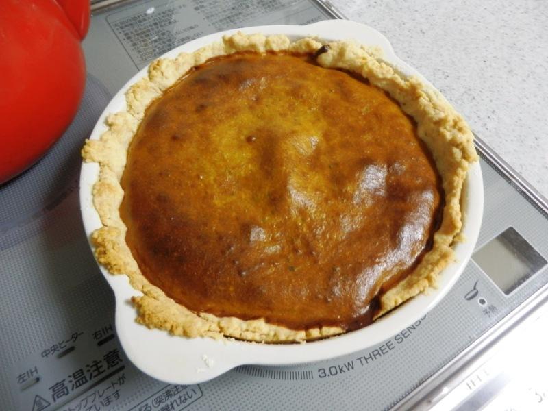 Coconut Kabocha Pie