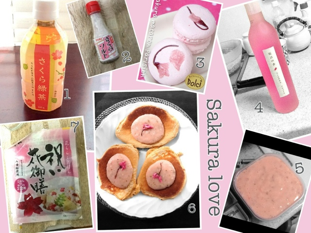 Sakura products in Japan