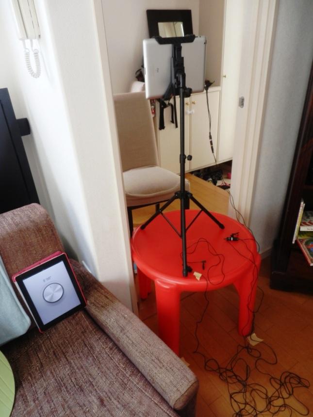 ipad filming setup