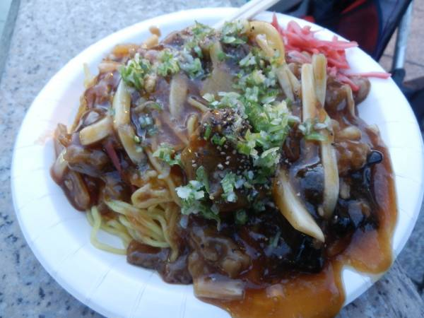 japanese fried noodles