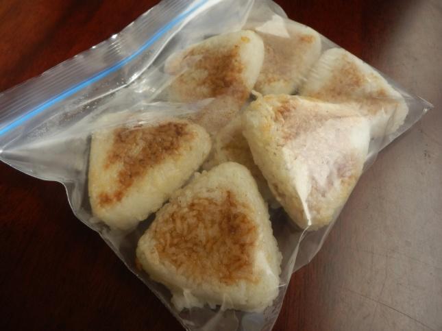 fried rice balls yakionigiri
