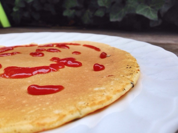 bacon negi pancakes
