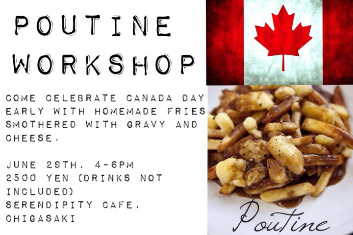 Poutine cooking class japan